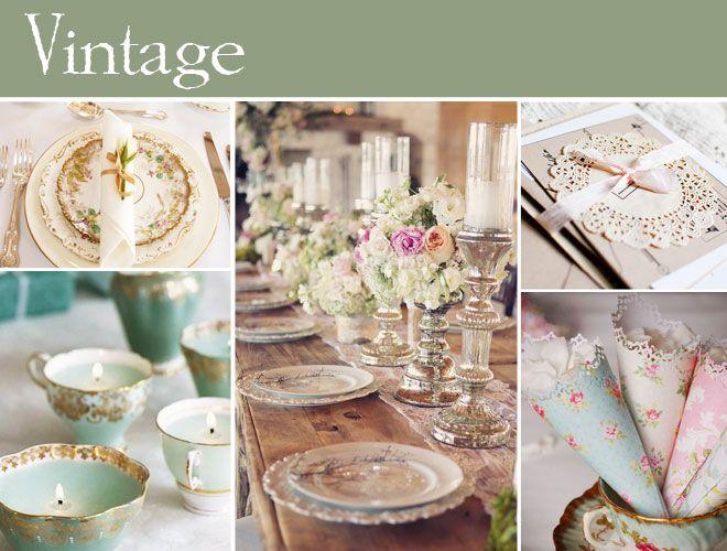 Vintage Düğün   Eskiye öykünen, bitpazarlarını gezmeye bayılan, bir ruhu ve geçmişi olan eşyalara hayran olan bir gelinseniz, vintage düğün teması tam size göre! Dantel örtüleri, eski şamdanları, kristal avizeleri, eski yemek ve çatal-bıçak takımlarını pekala değerlendirebilir, düğününüzde vintage bir hava yakalayabilirsiniz.  #maximumkart #düğünkonseptleri #weddingconsept