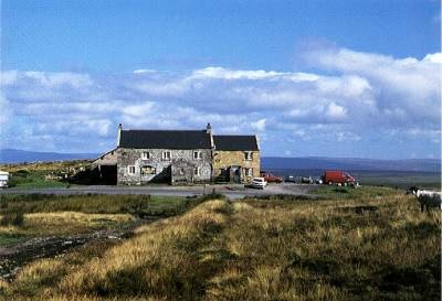Tan Hill Inn - allegedly the highest pub in England. Visited during a Yorkshire Dales Holiday in 1987 - I believe I was drinking Theakstone's Old Peculier photo: http://www.ramblefest.com/Images/tan_hill.jpg