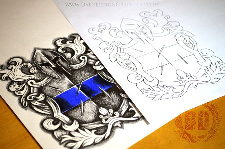 high resolution police tattoo design download now available from dark design graphics comes. Black Bedroom Furniture Sets. Home Design Ideas
