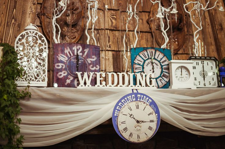 Time themed wedding