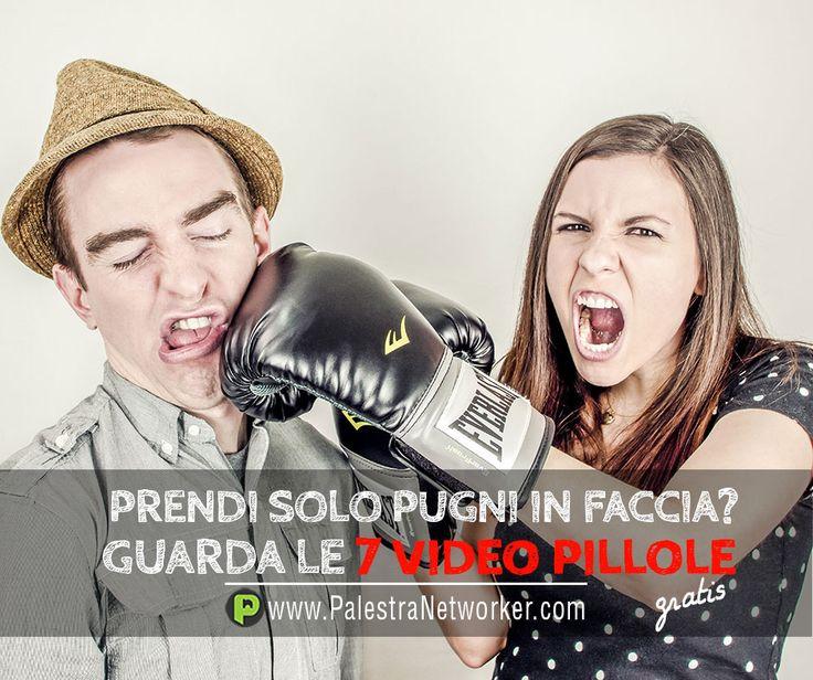 SE PRENDI PUGNI E SCHIAFFI QUALCOSA SBAGLI 7 Video Pillole sul Network Marketing (GRATIS) GUARDA => http://www.palestranetworker.com . . .  #networker #networkers #networkmarketing #palestranetworker