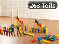 Playtastic 263-teiliges Domino-Set mit Holzsteinen & Action-Elementenfür nur sFr18,95