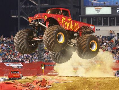A monster truck show sometimes involves the truck crushing smaller vehicles beneath its huge tires. These trucks can run up and over most man-made barriers, so they are equipped with remote shut-off switches, called the Remote Ignition Interruptor (RII), to help prevent an accident if the driver loses control at any time. At some events, only one truck is on the course at a time, while most feature two drivers racing each other on symmetrical tracks, with the losing driver eliminated in…