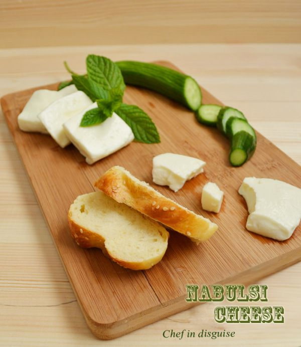 """How to make nabulsi cheese """"middle eastern brined cheese"""""""