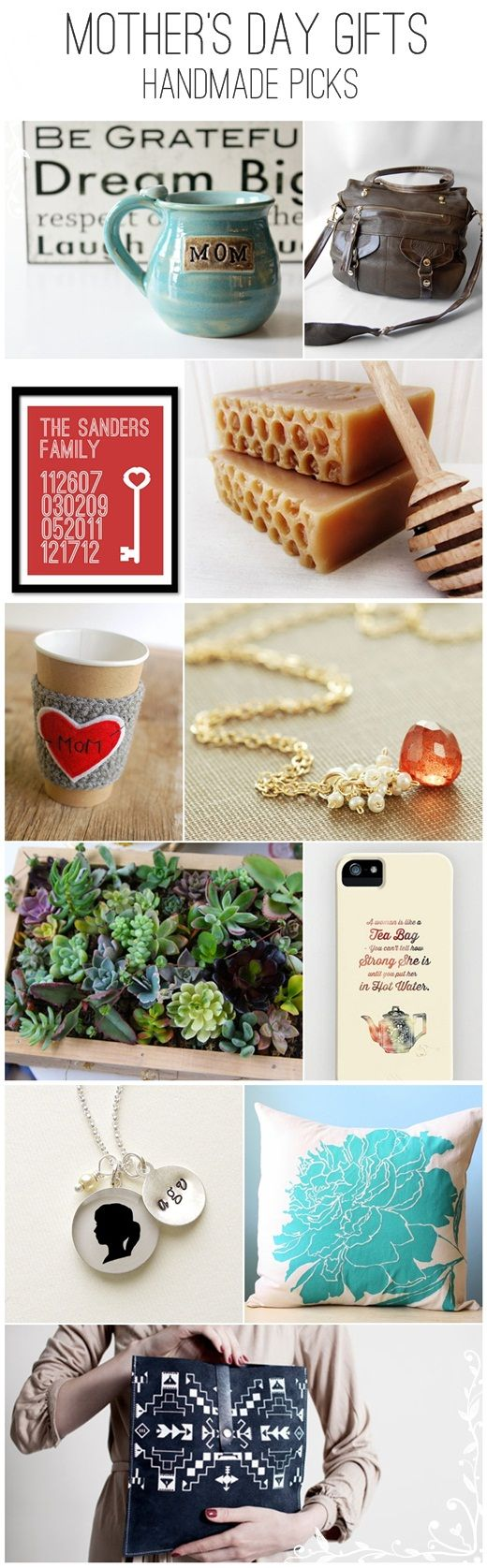 11 fabulous mother's day gifts by handmade artisans