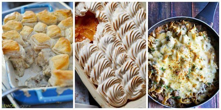 Fall Casserole Recipes - Great Casseroles for Fall