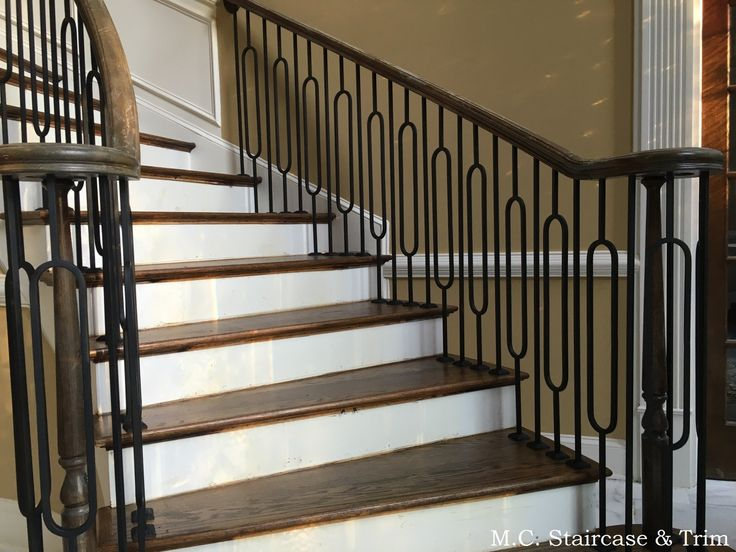 Best Iron Baluster Upgrade From M C Staircase Trim 640 x 480