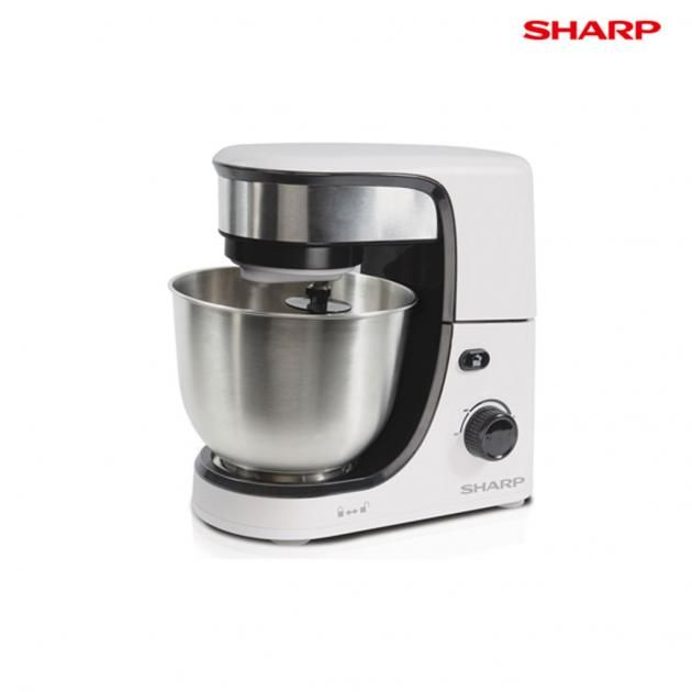 Sharp 4L Electric Stand Mixer EMS80WH