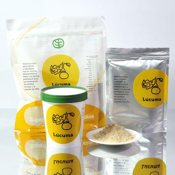 www.superalimentos.tienda La Lúcuma y sus diferentes presentaciones! Tambien en envase de 1 kgr.