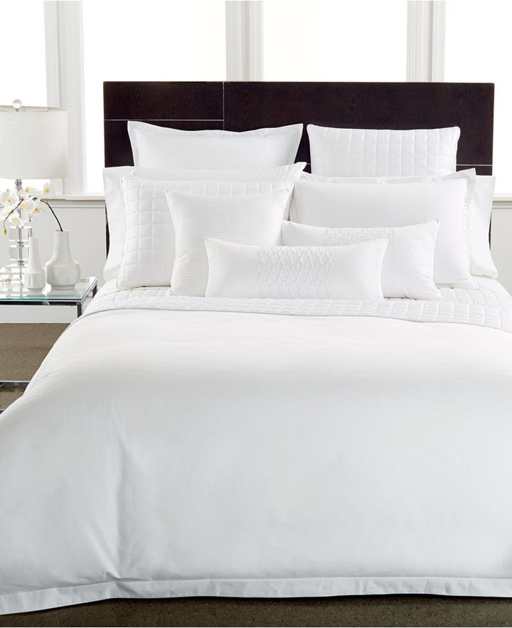 Hotel Collection 400 Thread Count Pima Cotton Quilted King Sham Shopstyle Home Home Decor