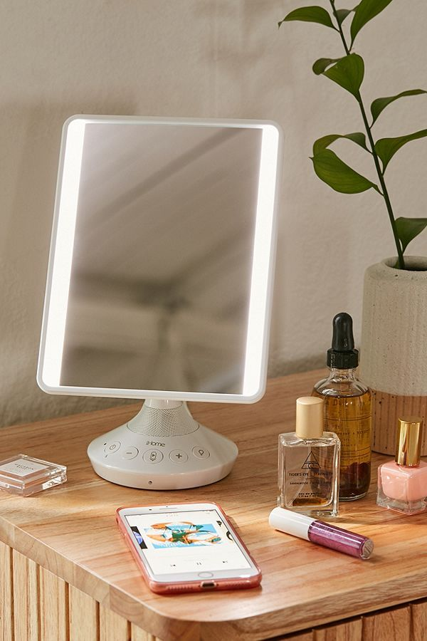 Ihome Vanity Mirror Speaker In 2020 Ihome Vanity Mirror Best Vanity Mirror Diy Vanity Mirror