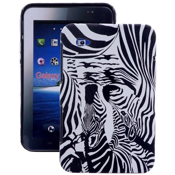 Zebra (Design3) Samsung Galaxy Tab P1000 Deksel