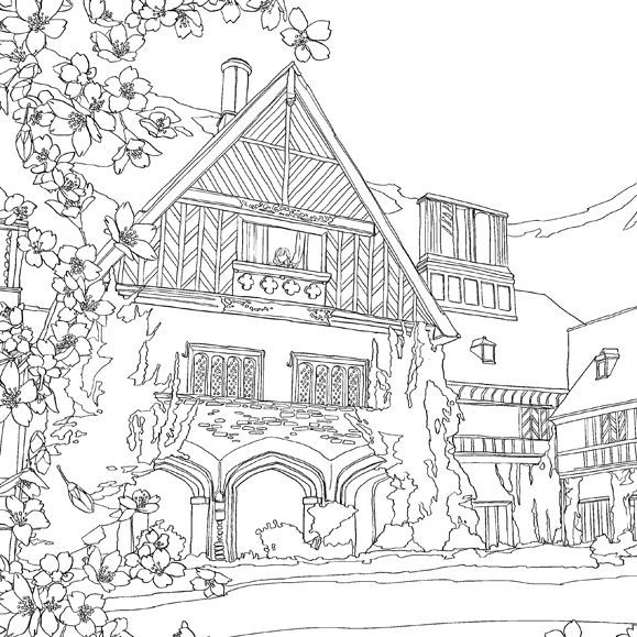 Check out what Debbie Macomber\'s new coloring book, \'The World of ...