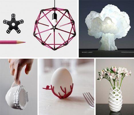 3D Yazıcı ile Dekoratif Objeler hazırlamak ve ev dekorasyonlarında kullanılan 3d yazıcı ile yapılmış ürünler 3 BoyutluDekoratif Objeler 3d ile yapılan ürün