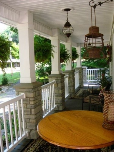 Colonial House Exterior Makeover Columns