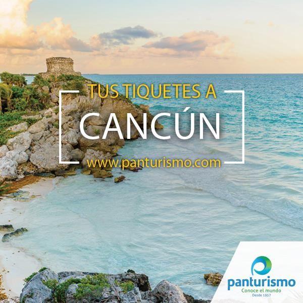 El mejor plan para la época de Reyes es viajar a Cancún y la forma más fácil y rápida de comprar los tiquetes es en www.panturismo.com