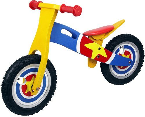£35'mmnnnnnmmmmCaptain America Kids / Boys / Girls Wooden Balance Bike Scooter First Ride Training Learning Bicycle Cycle Puregadgets http://www.amazon.co.uk/dp/B0068RSB0A/ref=cm_sw_r_pi_dp_CpJBvb1SRS87J