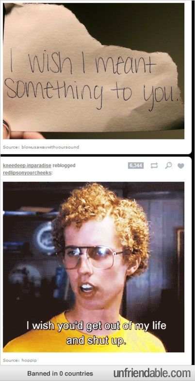 i laughed so hard at this.