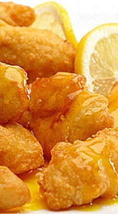 Authentic Chinese Lemon Chicken ❊                                                                                                                                                                                 More