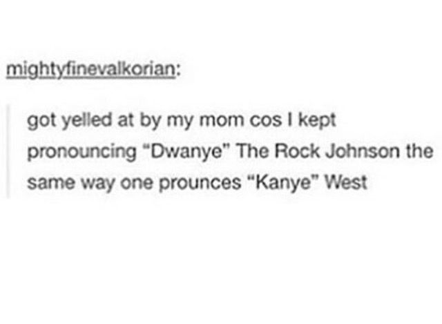 You spelled Dwayne wrong