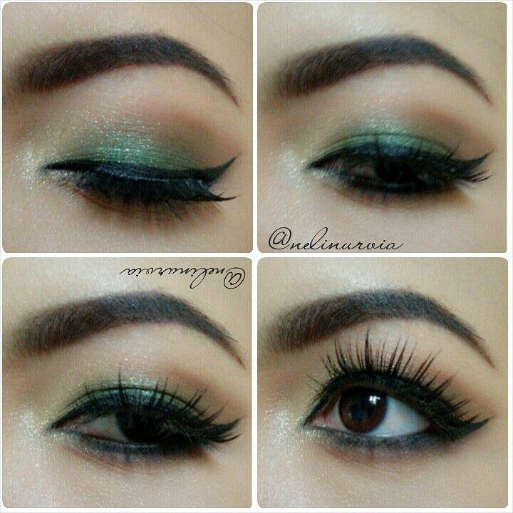lovely eyelash.. ilovethat.. ^-^ hobi hobian makeup