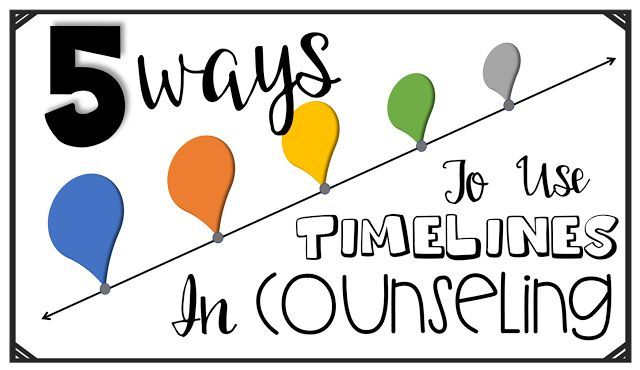 The Middle School Counselor: 5 Ways To Use Timelines in Counseling