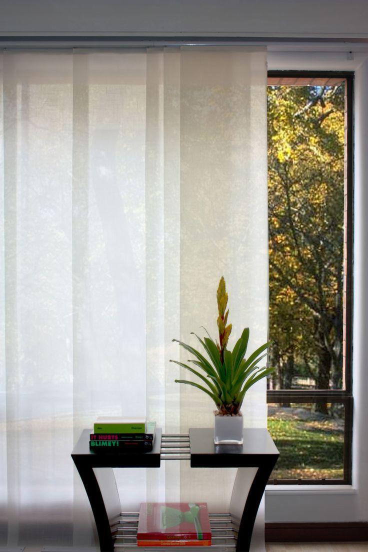 Controla la luz exterior con unas persianas bonitas.
