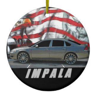 2007 Impala Ceramic Ornament