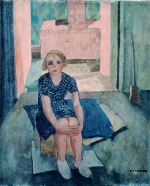 Felice Casorati (Italian, 1883-1963) - Child, 1939