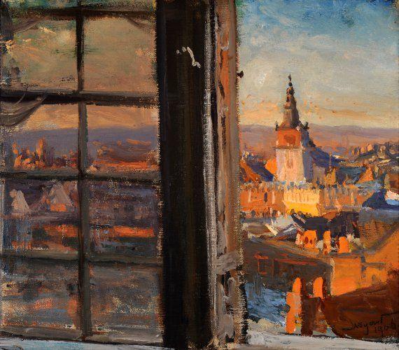 Krakow - Leon Jan Wyczolkowski 1877-79 Impressionism