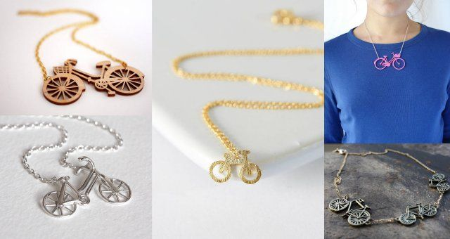 Cycle Style: Women's bicycle necklaces   Total Women's Cycling