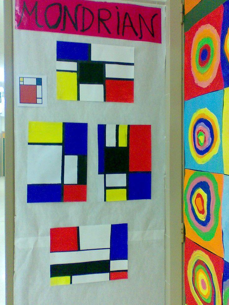 Mondrian, Kandinsky