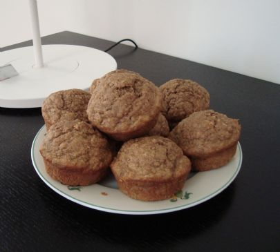 Healthy Banana Muffins via @SparkPeople