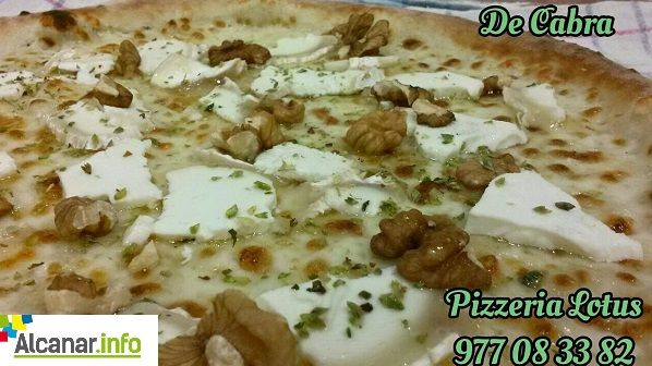 Pizzeria Lotus (Carretera Nova, 35 #Alcanar). #establimentrecomanat #pizzes artesanes elaborades a partir de les millors farines italianes