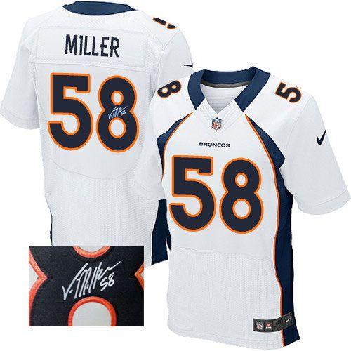 ... Elite Jersey-80%OFF Nike Autographed Von Miller Elite Jersey at Broncos  Womens - Nike Denver Broncos 58 Limited Navy Blue Alternate Super Bowl  XLVIII ... 90bc1d065