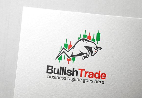 Bullish Trade Logo by Slim Studio on @creativemarket