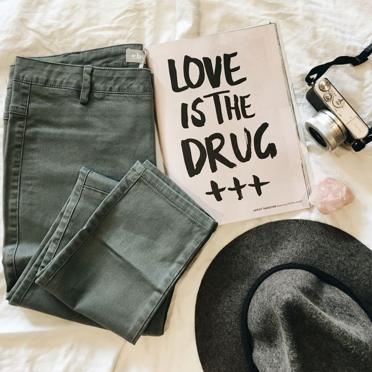 Love is the drug ! And love is our Eb&Ive Rouge pants