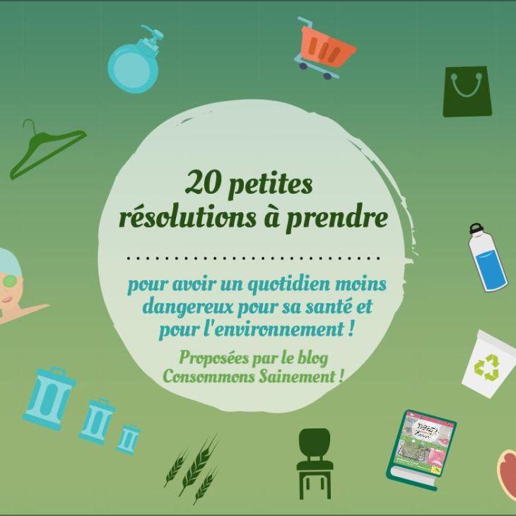 ... ou comment réduire l'impact de notre mode de vie sur l'environnement et notre santé