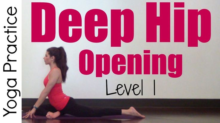 Join me for this 20 minute *Level 1* Deep Hip Opening Practice with long holding Hatha poses to increase hip flexibility. If this is too much try the Gentle ...