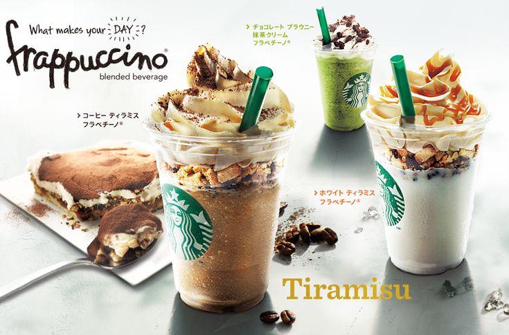 starbucks offering tiramisu frappucinos in japan