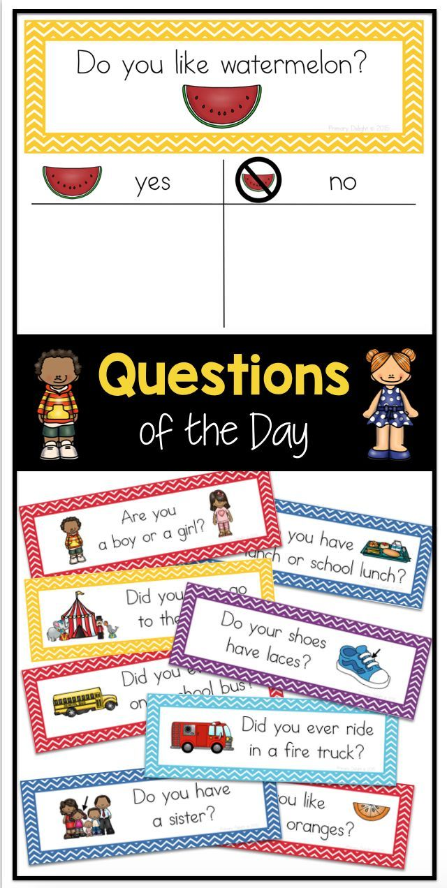 100 Questions Of The Day For Preschool Kindergarten Or First Grade During Morning Meeting Or This Or That Questions Preschool Circle Time Preschool Sign In
