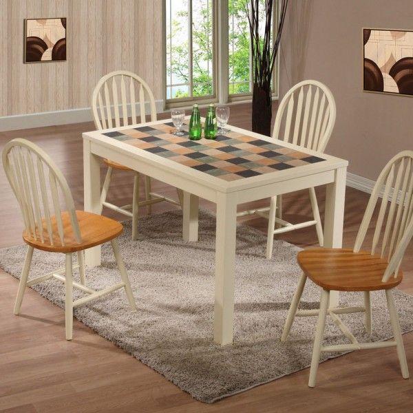 Кухонные обеденные столы с керамической плиткой: раскладные, раздвижные, отзывы и фото