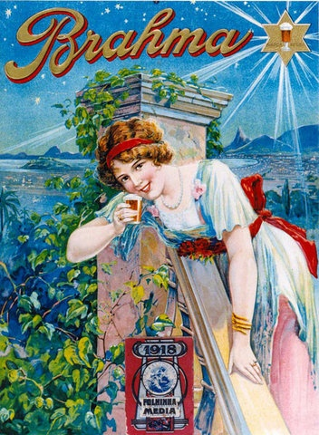 Brahma Beer Ad from 1918