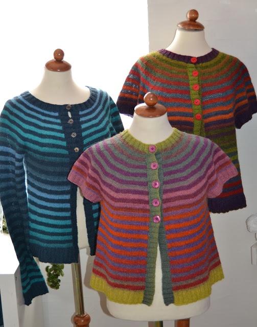 knitted with kauni yarn