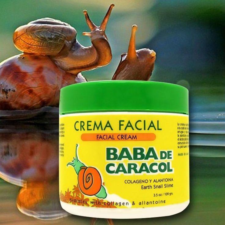 Facial cream Baba de Caracol, Earth Snail Slime, rejuvanate and better skin