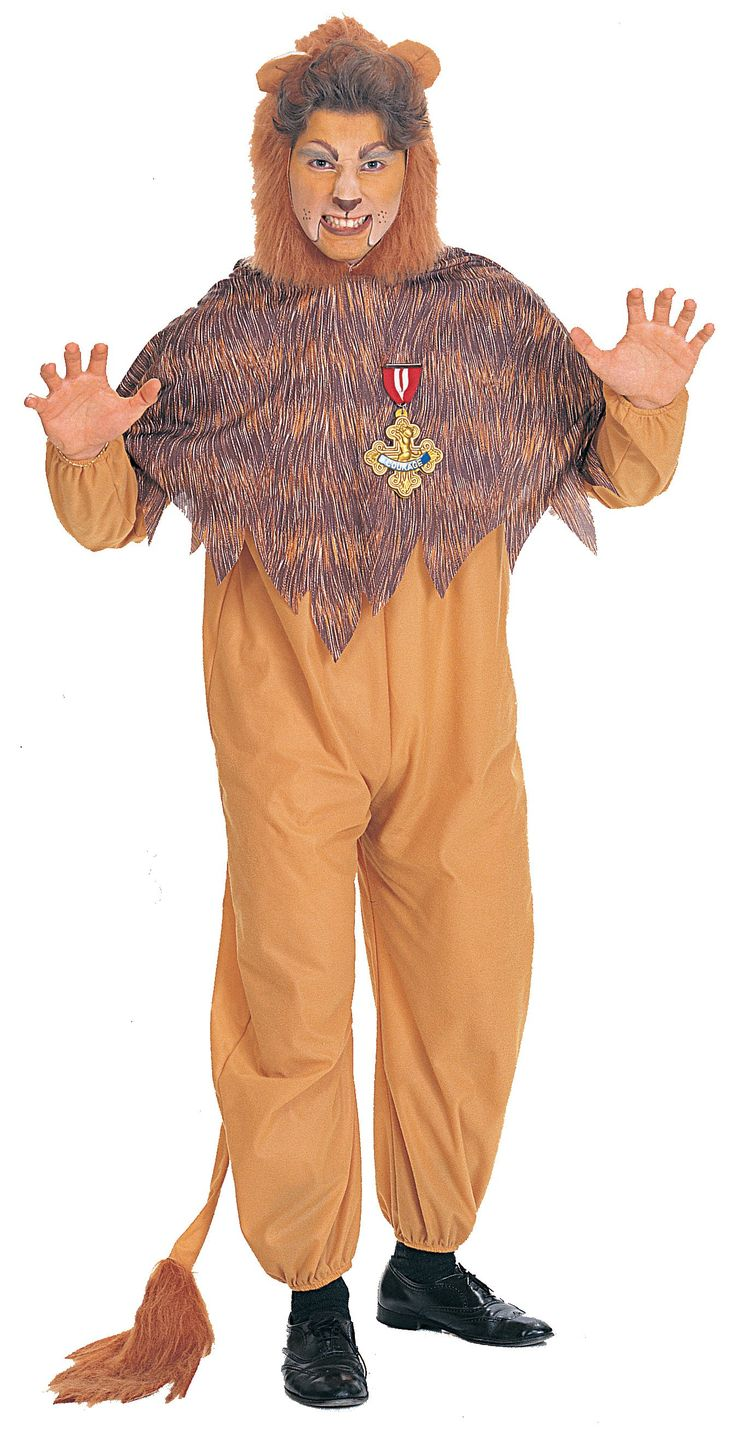 The Wizard of Oz Cowardly Lion Adult Costume from CostumeExpress.com