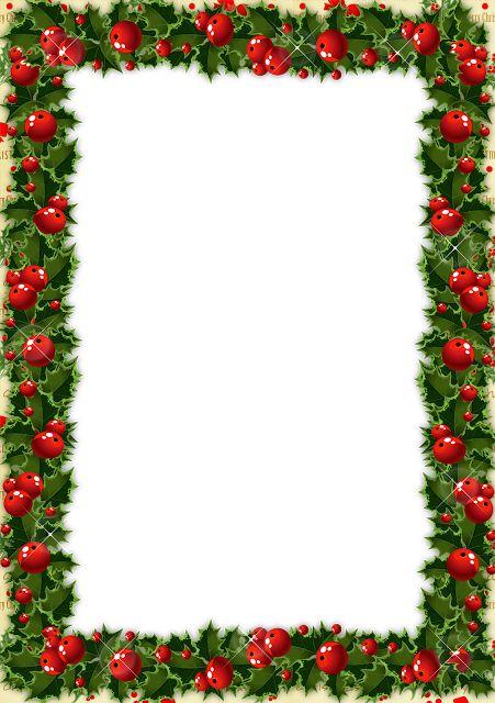 Marcos navideños en png | Arte digital