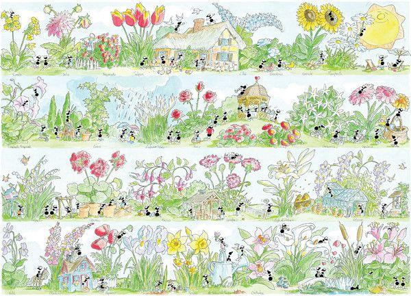 """Puzzle """"Fiori"""". #formiche #puzzle #fiori #natura"""