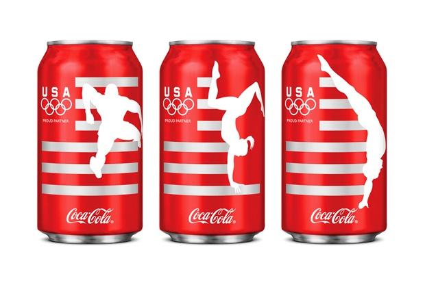Limited Edition Team USA Coca-Cola Design by Turner Duckworth