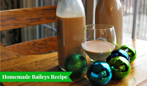Easiest Ever Homemade Baileys Irish Cream ---> Only a blender and six ...